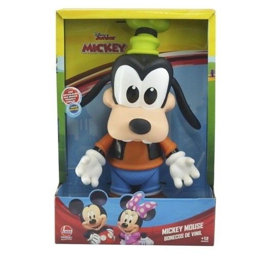 Boneco de Vinil Disney Junior Mickey Mouse Clubhouse Pateta - Líder