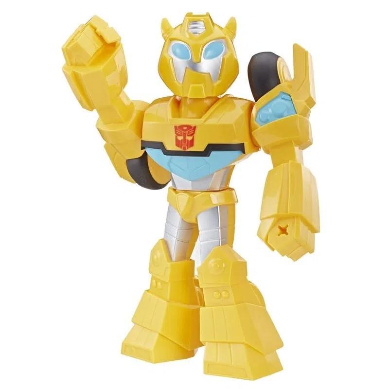 Boneco Mega Mighties Articulado 25 cm Rescue Bots Academy Bumblebee - Hasbro