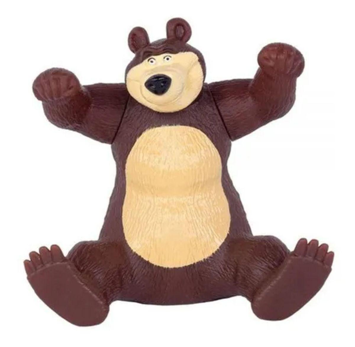 Boneco Urso Suporte Para Celular - Masha e o Urso Cotiplás  2466
