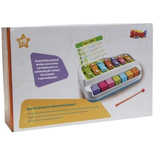 Brinquedo Baby Xilofone - Zoop toys