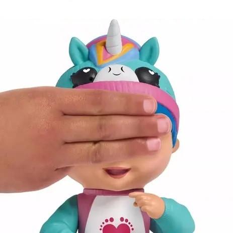 Brinquedo Boneca Interativa Tiny Toes Luna Gargalhada - Sunny