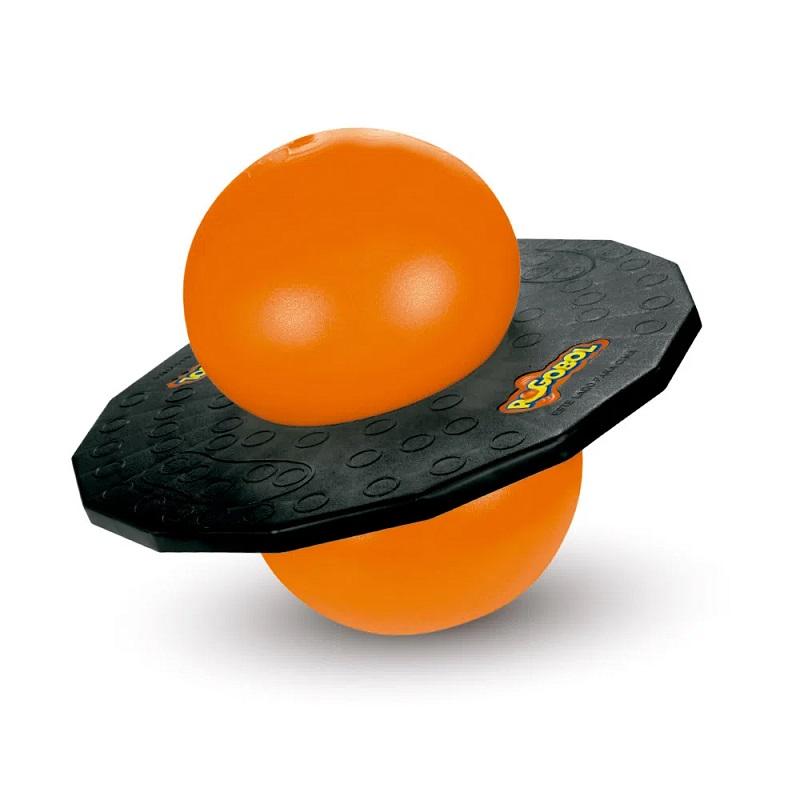 Brinquedo Clássico Pogobol Estrela Laranja/Preto 1002008000017
