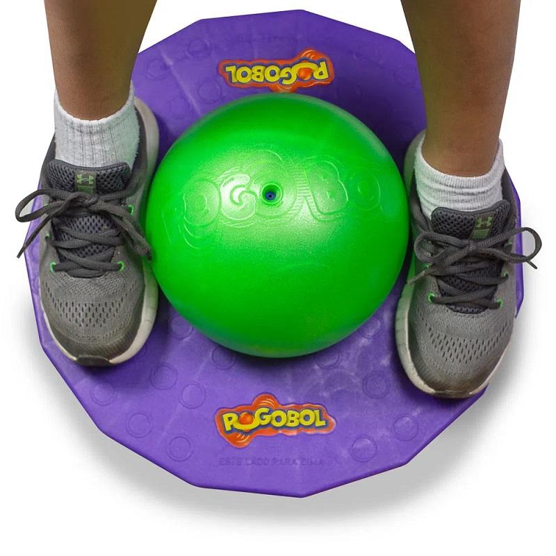 Brinquedo Clássico Pogobol Estrela Roxo/Verde 1002008000018