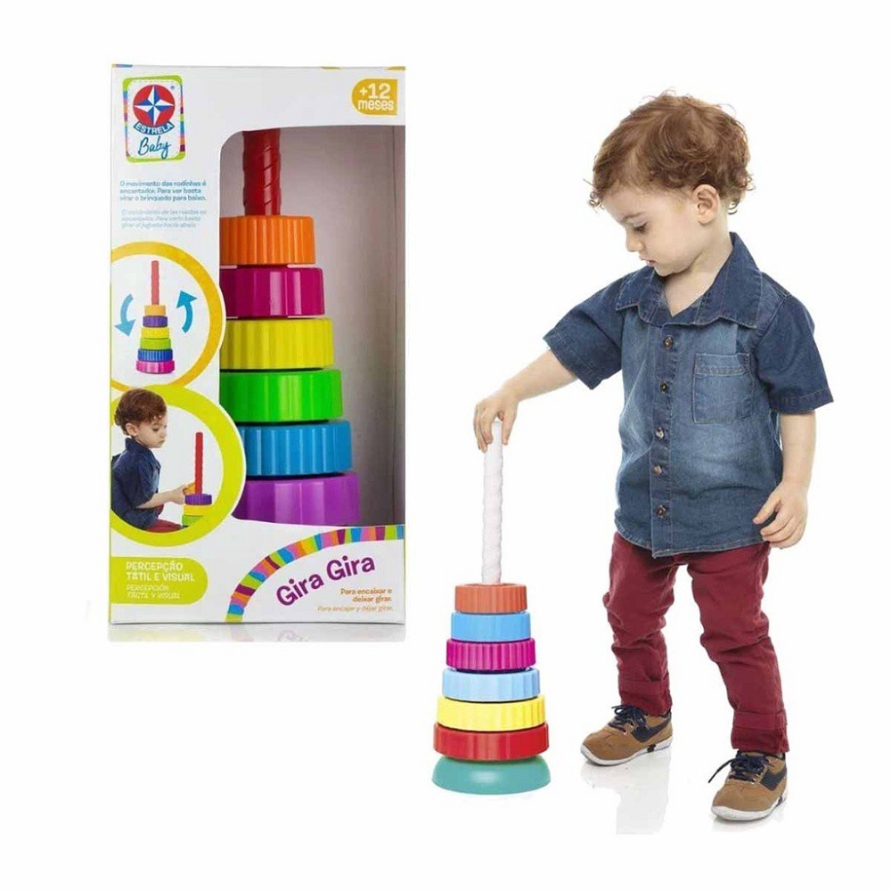 Brinquedo Gira Gira Estrela Baby 1001108000023