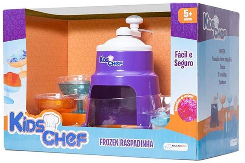 Brinquedo Kids Chef Frozen Raspadinha - Multkids