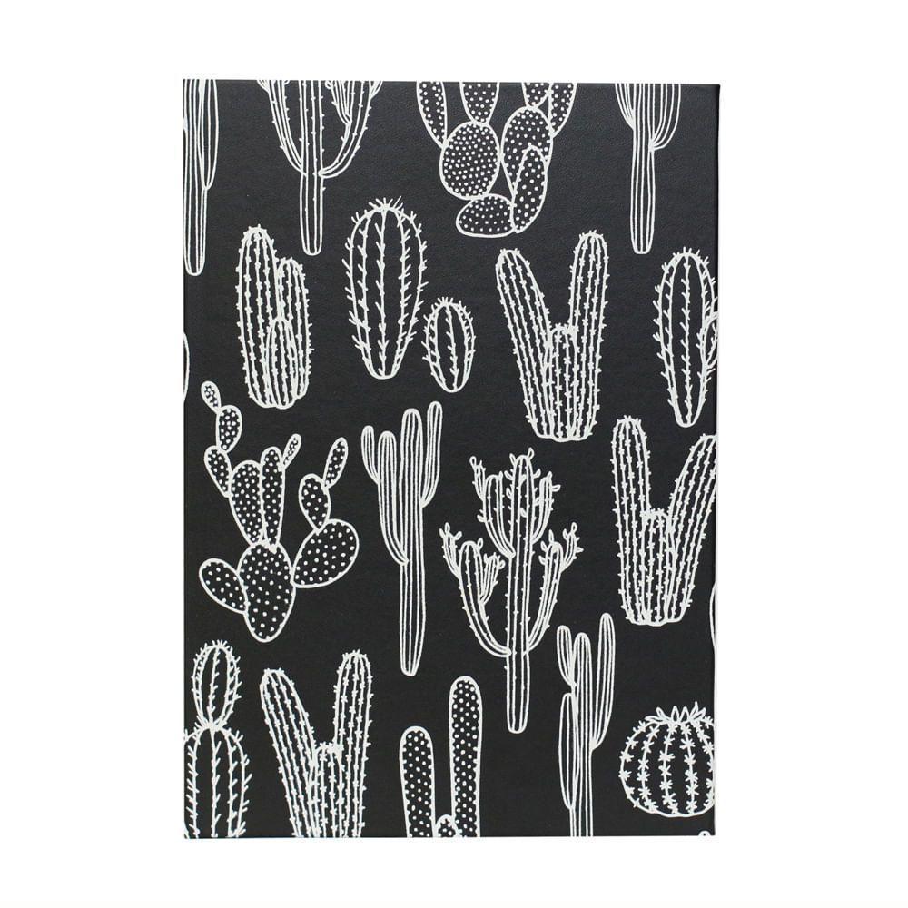 Caderneta Cactos A5 80 Folhas Pautadas  - Bee Unique