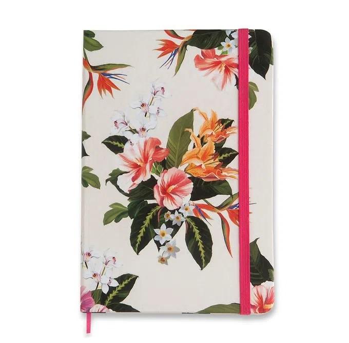 Caderneta de Anotações Flora Tropical 160 Folhas - Cicero