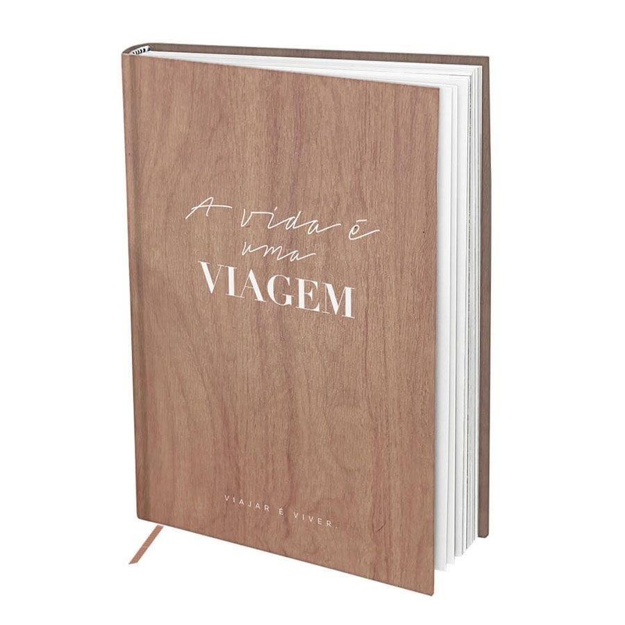 Caderno para Anotações 160 Páginas Viagem - Dac 165mm X 203mm
