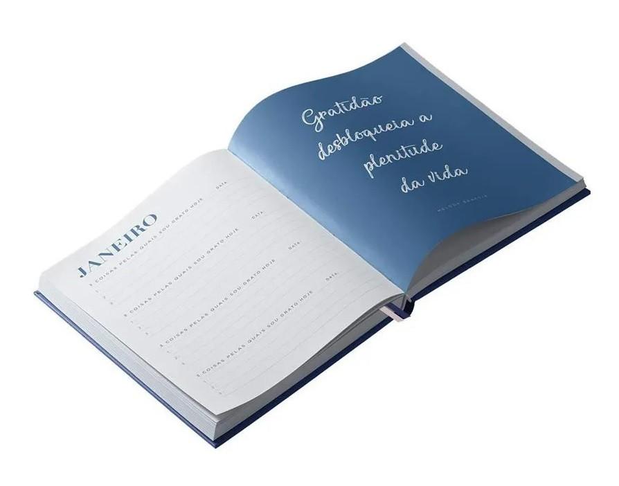 Caderno para Anotações com Calendário 160 Páginas Gratidão - Dac 165mm X 203mm