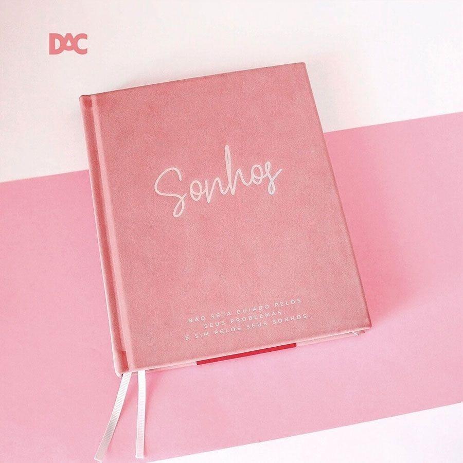 Caderno para Anotações e Planejamento 160 Páginas Sonhos - Dac 165mm X 203mm