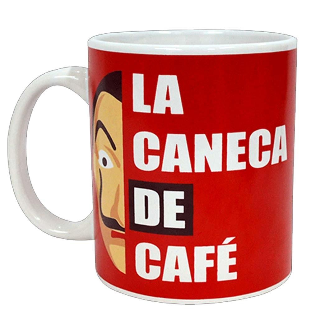 Caneca La Caneca de Café 300ml - La Casa de Papel - Simas