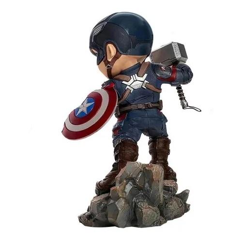 Capitão américa Iron Studios Endgame - Minico