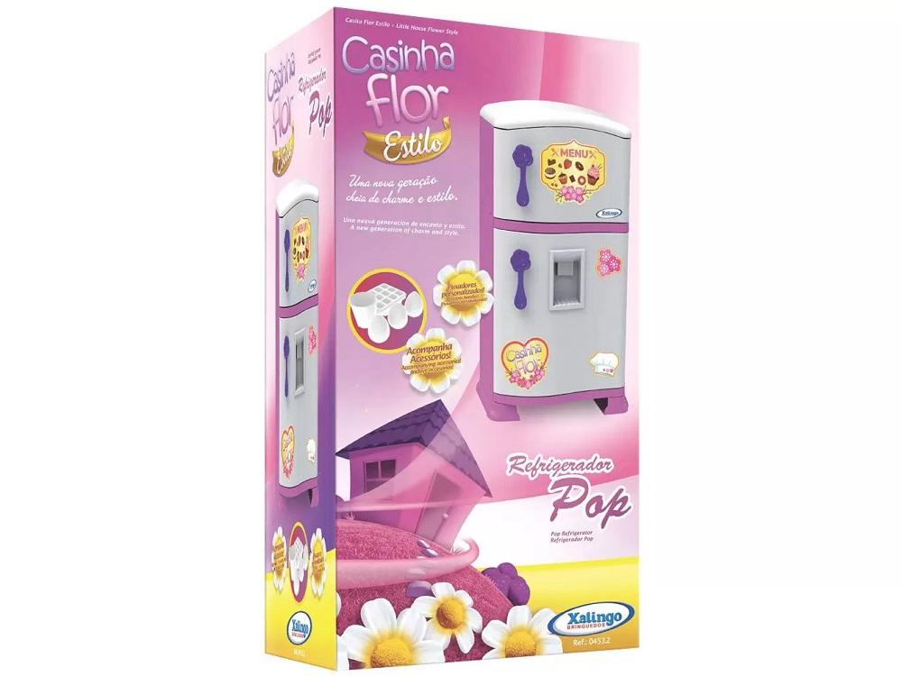 Casinha Flor Estilo Refrigerador Pop - Xalingo