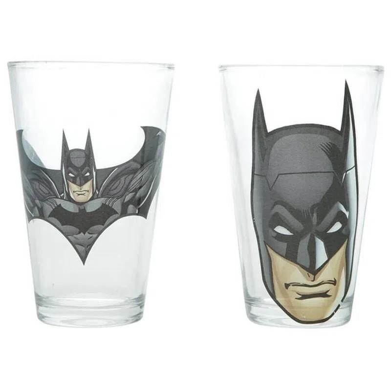 Conjunto 2 Copos de Vidro 300ml Batman - Urban
