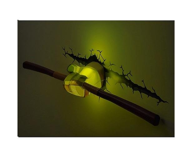 Decoração Luminária Tartarugas Ninja Donatello - 3DLIGHT FX