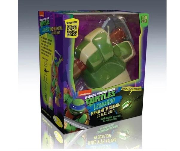 Decoração Luminária Tartarugas Ninja Michelangelo - 3DLIGHT FX