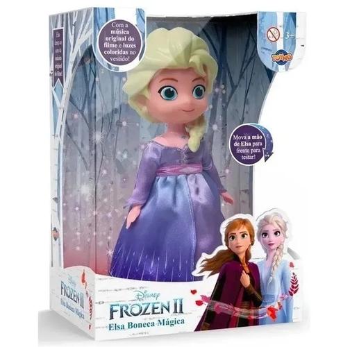 Boneca Mágica Disney Frozen II Elsa - Toyng