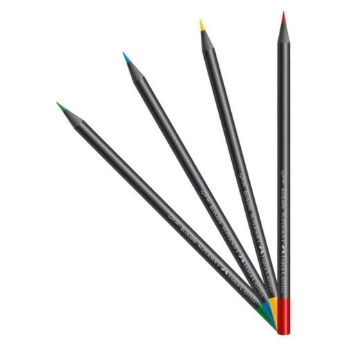 Eco Lápis de Cor SuperSoft 50 Cores - Faber-Castell