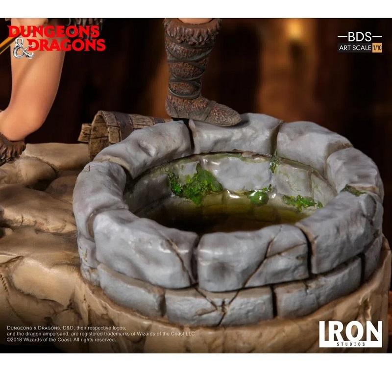 Estátua Caverna Do Dragão Diana Acrobata 1/10 - Iron Studios