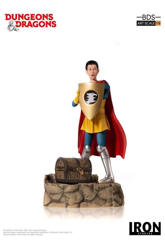 Estátua Caverna Do Dragão Eric o Cavaleiro 1/10 - Iron Studios