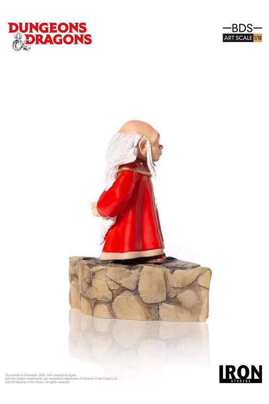 Estátua Caverna Do Dragão Mestre Dos Magos - Iron Studios