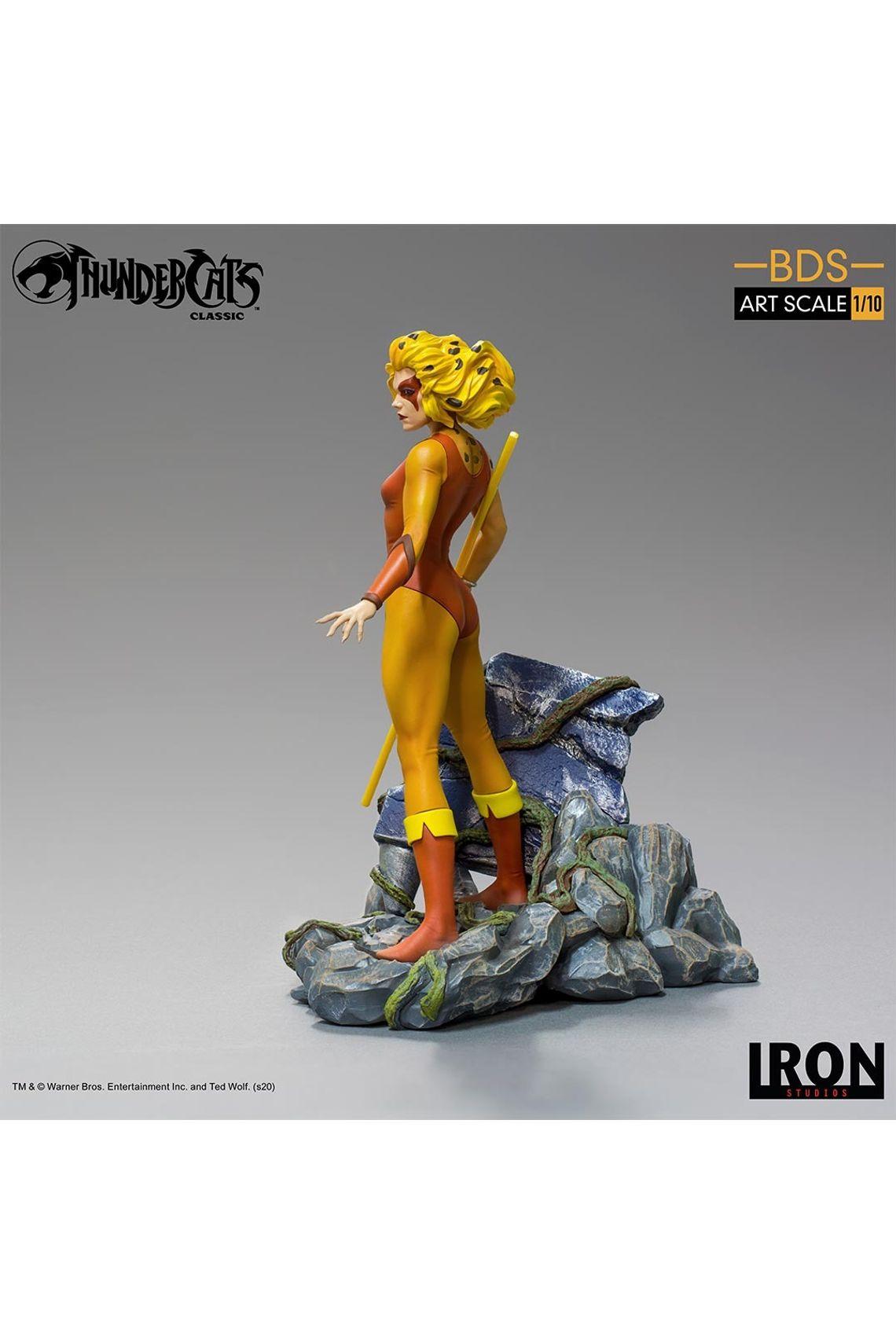 Estátua Cheetara Thunder Cats Classic -  Iron Studio 1/10