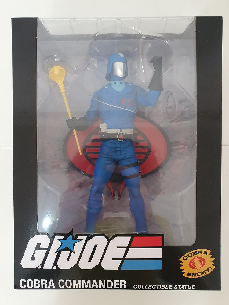 Estátua de PVC GI Joe Cobra Commander Premium Collectibles Studio