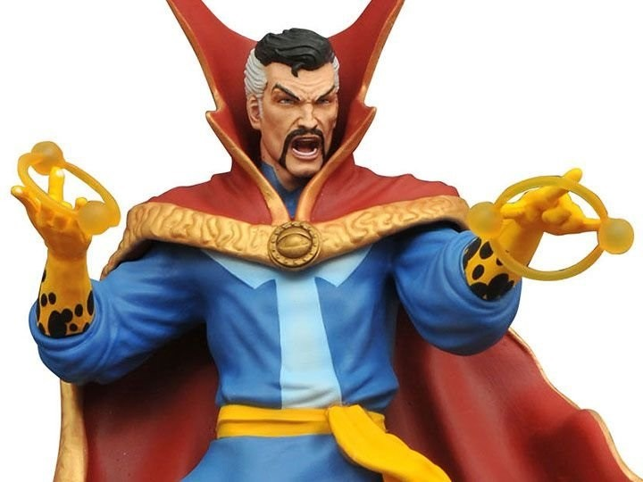 Estátua Doctor Strange Doutor Estranho PVC Diorama Marvel - Diamond Gallery