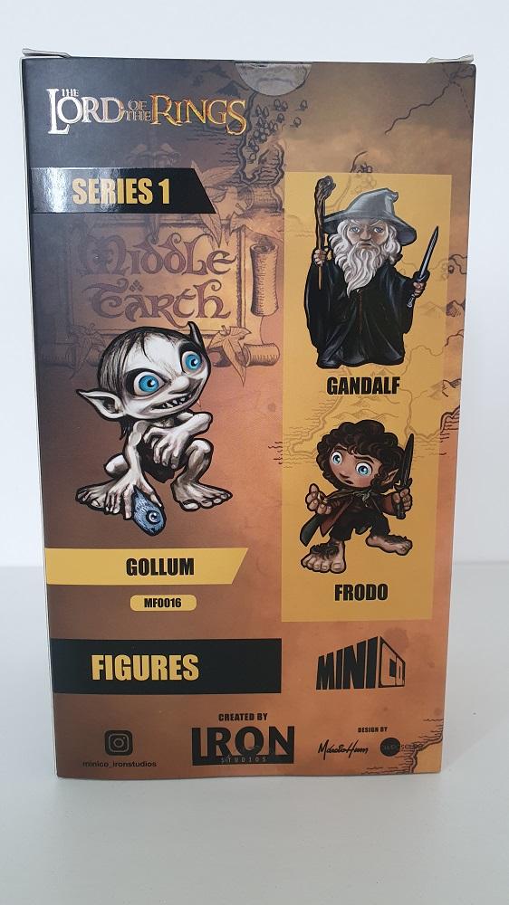 Estátua Gollum O Senhor dos Anéis MiniCo Iron Studios