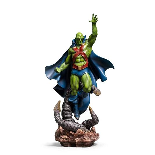 Estátua Martian Manhunter By Ivan Reis Iron Studios