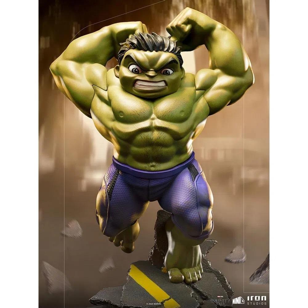 Estátua Marvel The Infinity Saga Hulk Iron Studios MiniCo