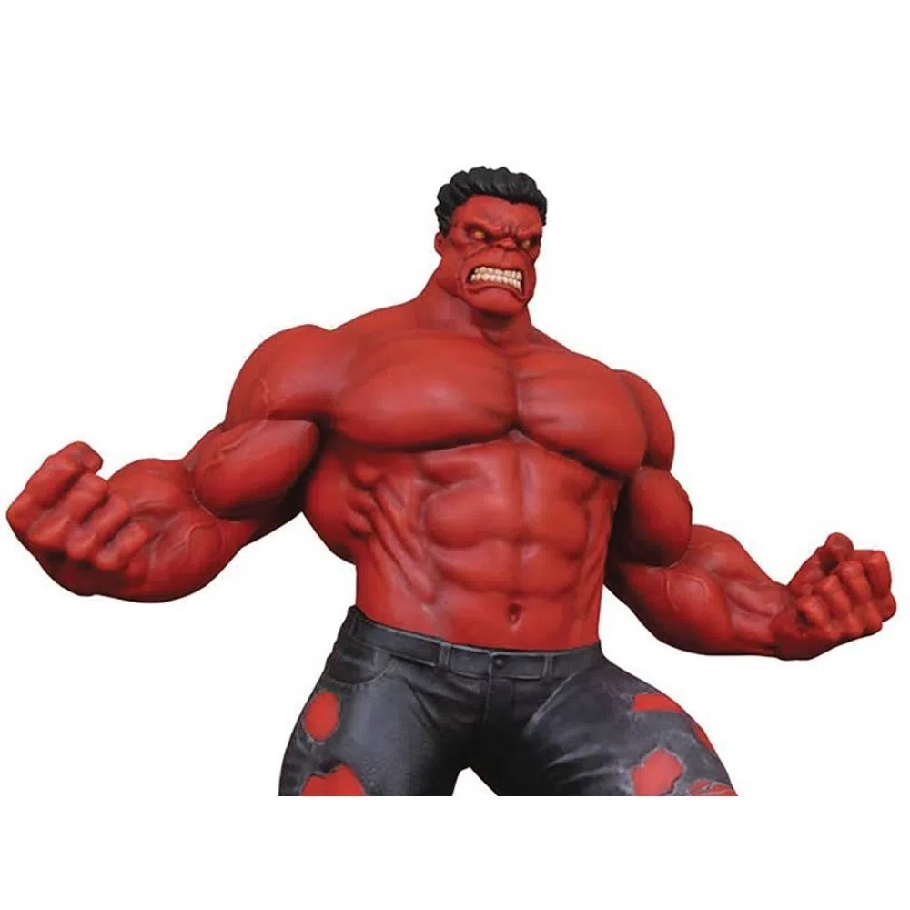 Estátua Red Hulk Marvel PVC Gallery Diorama Diamond Select Toys