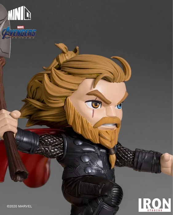 Estátua Thor Iron Studios Vingadores Endgame - Minico