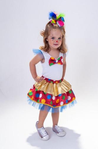 Fantasia Infantil Palhacinha Bebela Anjo Fantasias