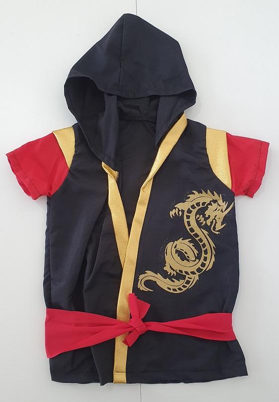 Fantasia Infantil Super Ninja Ref: 258 Anjo Fantasias
