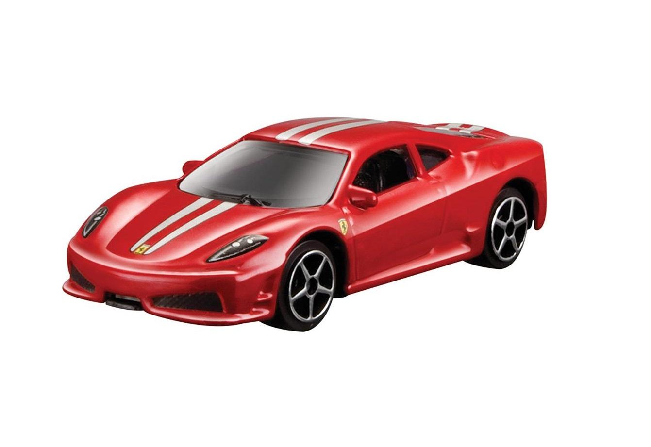 Ferrari 430 Scuderia Burago Race & Play escala 1/64