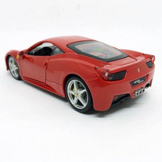 Ferrari 458 Italia Bburago Race & Play escala 1/24