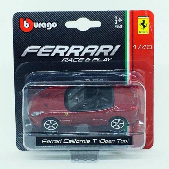 Ferrari California T (T Open) Bburago Race & Play escala 1/43