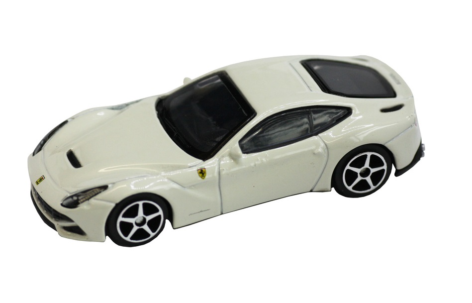 Ferrari F12 berlinetta Burago Race & Play escala 1/64