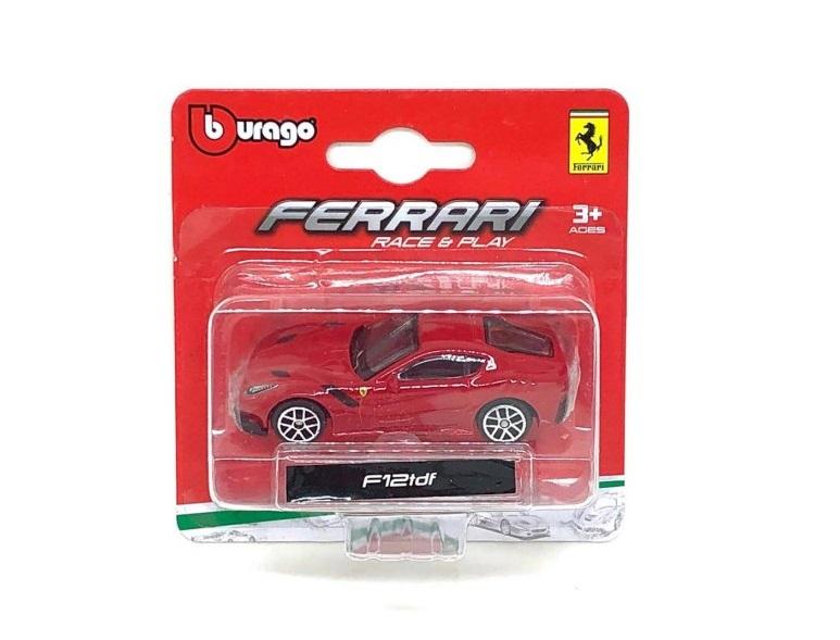 Ferrari F12 tdf Burago Race & Play escala 1/64