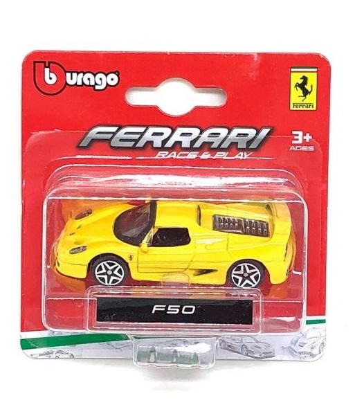Ferrari F 50 Bburago Race & Play escala 1/64