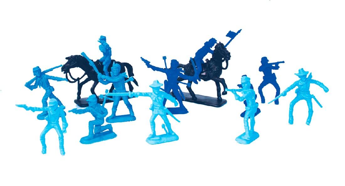 Forte Apache 41 Peças Soldados Confederados - Gulliver