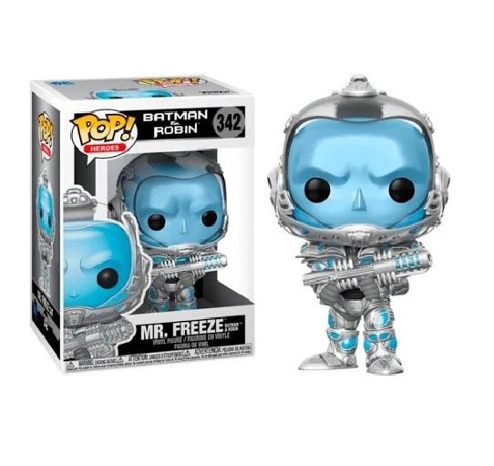 Funko Pop Batman e Robin Mr. Freeze (342)