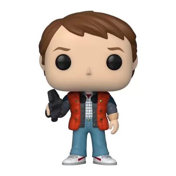 Funko Pop BTTF De Volta pro Futuro Marty In Puffy Vest (961)
