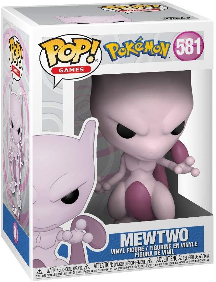 Funko Pop Games Pokémon Mewtwo (581)