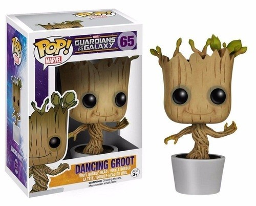 Funko Pop Guardiões da Galáxia Dancing Groot (65)