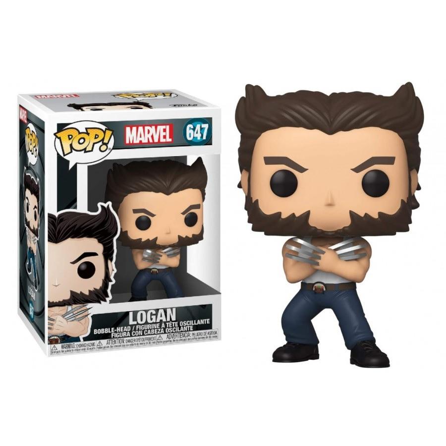Funko Pop Marvel X-men Origins Wolverine : Logan (647)