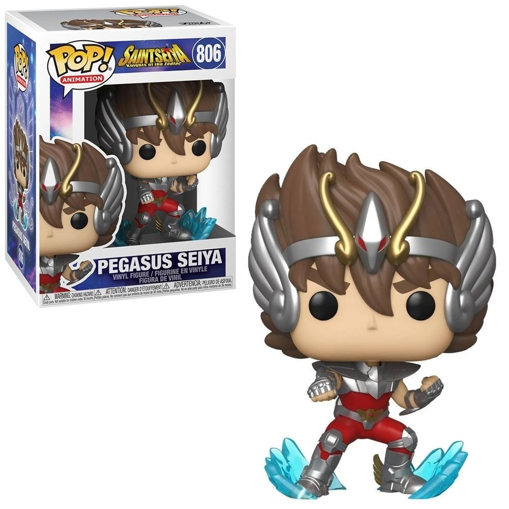 Funko Pop! Os Cavaleiros do Zodiáco Pegasus Seiya (806)