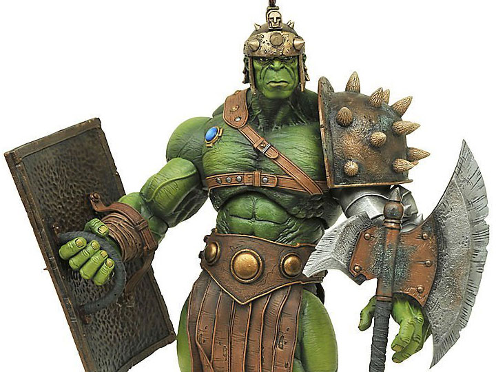 Hulk Gladiador Planeta Hulk Marvel Select Diamond