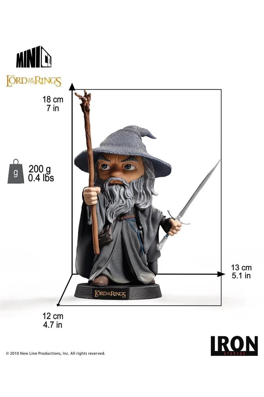 Iron Studios Senhor dos Anéis Gandalf - Minico
